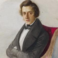 Młody Chopin idzie do teatru